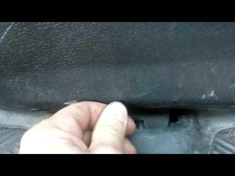 Как открыть багажник из салона пежо307