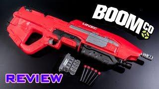 getlinkyoutube.com-[REVIEW] BoomCo Halo Assault Rifle | UNSC MA5 Blaster