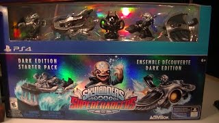 getlinkyoutube.com-SKYLANDERS SUPERCHARGERS DARK EDITION PS4 UNBOXING
