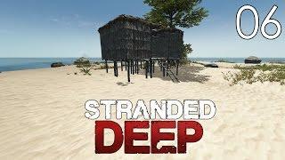 getlinkyoutube.com-Stranded Deep [#6] Budujemy chatę - masa materiałów