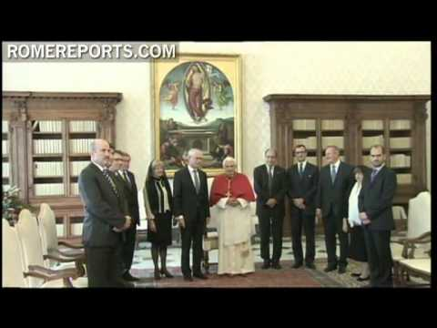 Benedict XVI and President of the European Council discuss current economic crisis