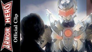 getlinkyoutube.com-Mastiff Man gets trained - Armor Hero Official English Clip  [HD 公式] - 50