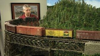 getlinkyoutube.com-TrainMasters TV - Bob Bartizek's Pennsylvania & Western