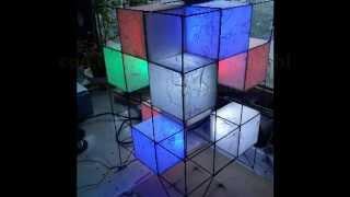 getlinkyoutube.com-costruzione lampada led CCL Fai da te  - DIY - build led lamp - Color Led lamp