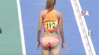 getlinkyoutube.com-美人すぎる走り幅跳び選手 ケーズデンキ水戸招待陸上2016
