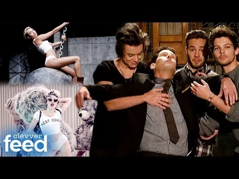 One Direction SNL Promo & Miley Cyrus Takes Over VEVO Top 10