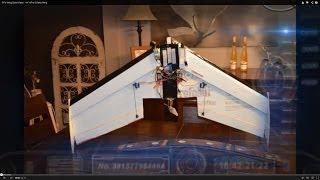 """getlinkyoutube.com-FPV Wing Build Video - 44"""" KFm-2 Delta Wing"""