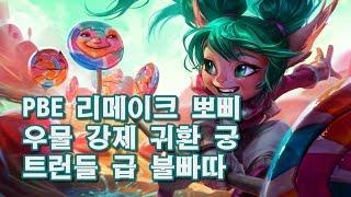 getlinkyoutube.com-PBE 리메이크 뽀삐 불빠따! 우물 보내기 궁!