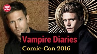 SDCC 2016: Zach Roerig e Matthew Davis de The Vampire Diaries