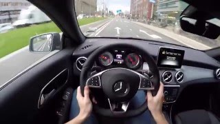 Mercedes-Benz CLA 220 CDI AMG styling - POV drive