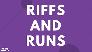 RIFFS AND RUNS (BEGINNER) - VOCAL EXERCISE
