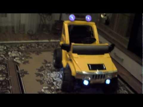 Детский электромобиль хаммер м5