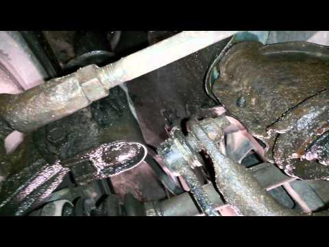 Mazda 323f ba стук рулевой рейки
