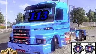 getlinkyoutube.com-Euro Truck Simulator 2 -  113 Socada no chão, será que arrasta ? + Link Download