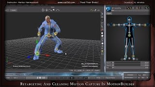 getlinkyoutube.com-Motion Builder - MoCap Cleanup and Re-targeting