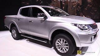 getlinkyoutube.com-2015 Mitsubishi L200 - Exterior and Interior Walkaround - 2015 Geneva Motor Show