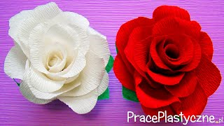 getlinkyoutube.com-Jak zrobić różę z krepiny?