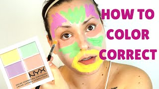 HOW TO COLOR CORRECT FOR FAIR SKIN TONES