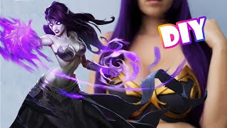 getlinkyoutube.com-Tutorial Cosplay  - Morgana Cosplay - League of Legends - Tutorial Completo - Top em EVA - DIY