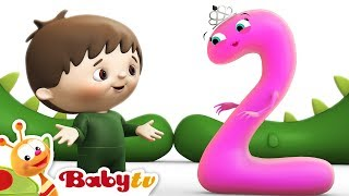 getlinkyoutube.com-Counting with Charlie & The Numbers - Charlie Meets Number 2 | BabyTV