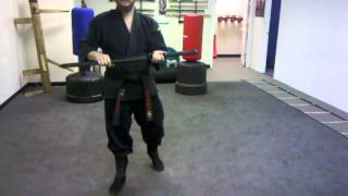 getlinkyoutube.com-Ninja-To (Kihon) Basic use