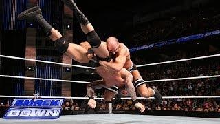 getlinkyoutube.com-Cesaro vs. Randy Orton: SmackDown, Feb. 14, 2014