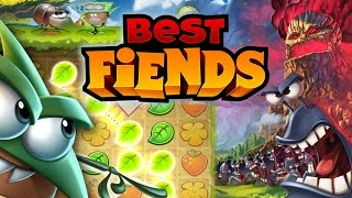 getlinkyoutube.com-Best Fiends Challenges Angry Birds & Candy Crush