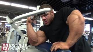 getlinkyoutube.com-IFBB Pro Justin Compton Trains Back And Biceps
