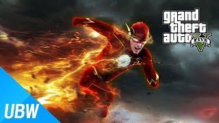 getlinkyoutube.com-울산큰고래' 역대급 핵고퀄 모드!! 물 위를 걷고, 시간을 달리는 히어로 플래시 모드 GTA 5 PC : FLASH MOD [DOWNLOAD & GAMEPLAY]