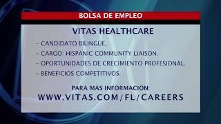 Vitas ofrece una oportunidad de empleo en nuestra bolsa de trabajo
