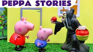 getlinkyoutube.com-Peppa Pig English Episodes Compilation Play Doh Halloween with Thomas and Friends Toy Trains TT4U