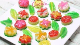 getlinkyoutube.com-ทำขนมชั้น ด้วยแม่พิมพ์ซิลิโคน - How to Layer Sweet Cake (Kanom Chan)