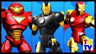 getlinkyoutube.com-Marvel Super Hero Mashers Iron Man, Hulk Buster | Mix+Smash