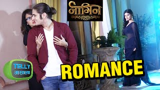 getlinkyoutube.com-Rajat Tokas aka Kabir Romances Sesha In Naagin | Naagin | Colors