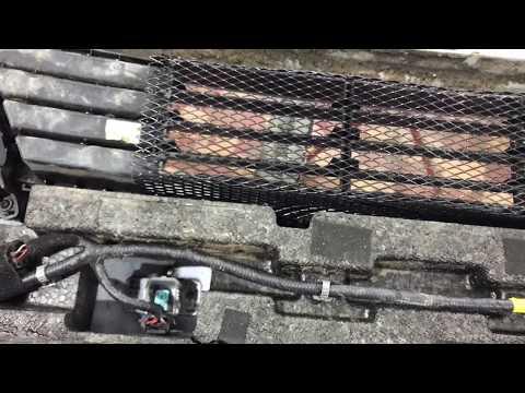 Kia Cerato защита радиатора. Снимаем бампер и устанавливаем защитную декоративную сетку