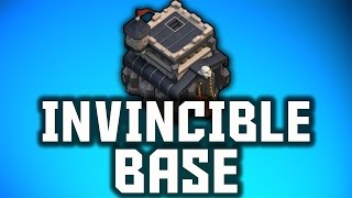 "Clash of Clans Invincible Base For Town Hall 9! - ""Invincible Layout"" - Best Town Hall 9 War Base?"