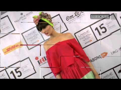 Nargis Fakhri Lakme Fashion Week Instagram show For designer Masaba Gupta