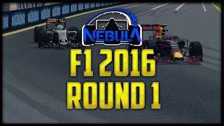 getlinkyoutube.com-Nebula rFactor F1 2016 | Round 1 | Melbourne!