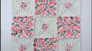 getlinkyoutube.com-Crochet: Cuadrado # 21
