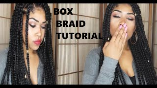 getlinkyoutube.com-HOW TO | BOX BRAID TUTORIAL 2016 | FOR BEGINNERS (detailed)