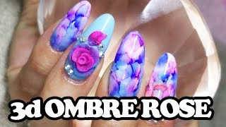 getlinkyoutube.com-How to: 3D ombre acrylic rose