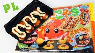 getlinkyoutube.com-Kuru kuru Takoyaki z proszku - JAPANA zjadam #39