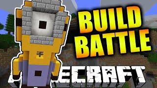 Minecraft TEAM BUILD BATTLE #5 'MINION!' with Vikkstar123 & Woofless