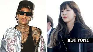 getlinkyoutube.com-Wiz Khalifa Calls Taeyeon out for FLAKING On Collaboration?! | HOT TOPIC!