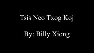 Billy Xiong - Tsis Nco Txog Koj (Lyrics)