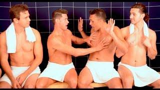 getlinkyoutube.com-Gay Guys Attracted to Straight Men - Steam Room Stories.com