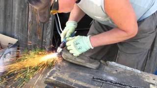 getlinkyoutube.com-Самодельный плазморез, плазменный резак в работе продолжение. Резка. DIY plasma cutter in the work