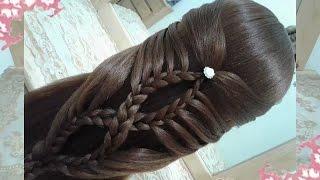 getlinkyoutube.com-peinados recogidos faciles para cabello largo bonitos y rapidos con trenzas para niña para fiestas86