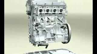 getlinkyoutube.com-DOHC 4 cylinder engine Video - Part 1