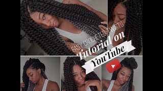 getlinkyoutube.com-EASY Crochet Braids Tutorial w/ Havana Twist Hair | @DayeLaSoul (IG)